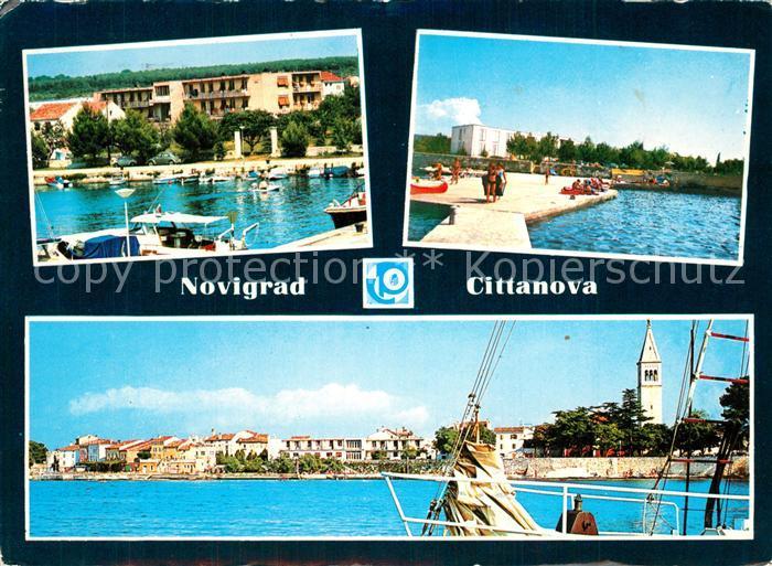 AK / Ansichtskarte Novigrad Cittanova Hoteli Afrodita Emonia Stella Maris Novigrad