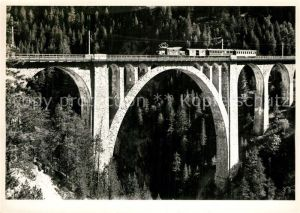 AK / Ansichtskarte Viadukte_Viaduc Wiesner Viadukt Eisenbahn