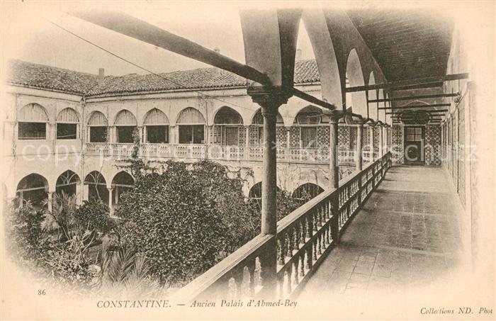 AK / Ansichtskarte Constantine_Algerien Ancien Palais d Ahmed Bey