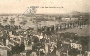 AK / Ansichtskarte Bordeaux Vue generale de la Rade Bordeaux