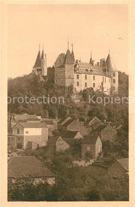AK / Ansichtskarte La_Rochepot Chateau vue prise du Sud La_Rochepot