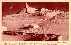 AK / Ansichtskarte Puy de Dome Le Sommet Observatoire Puy de Dome