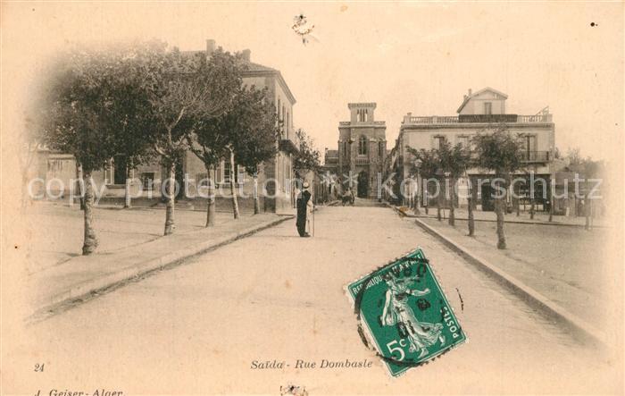 AK / Ansichtskarte Saida Rue Dombasle Saida