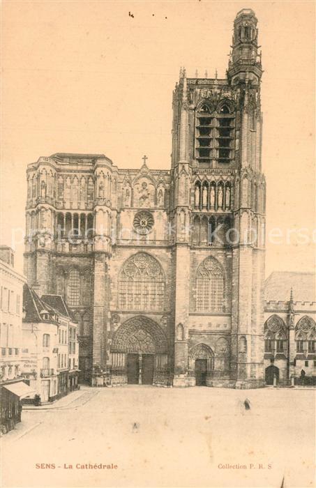 AK / Ansichtskarte Sens_Yonne La Cathedrale Sens_Yonne