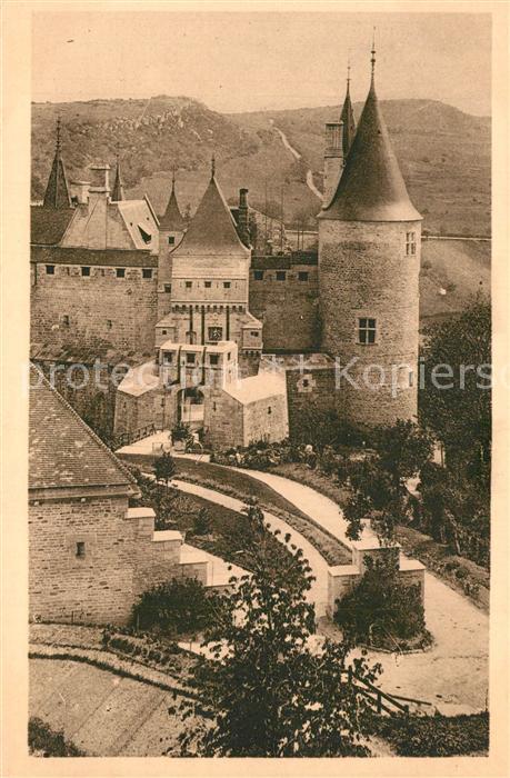 AK / Ansichtskarte La_Rochepot Chateau les deux ponts levis La_Rochepot