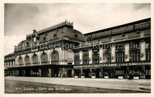 AK / Ansichtskarte Lyon_France Gare des Brotteaux Lyon France