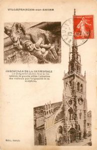 AK / Ansichtskarte Villefranche sur Saone Gargouille de la Cathedrale Villefranche sur Saone