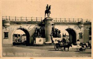 AK / Ansichtskarte Ostende_Oostende Monument Roi Leopold II