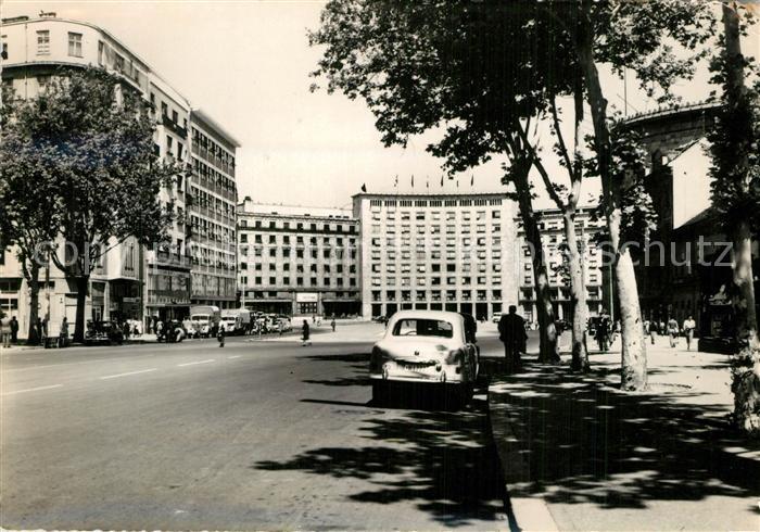 AK / Ansichtskarte Beograd_Belgrad Trg Marksa i Engelsa Beograd Belgrad
