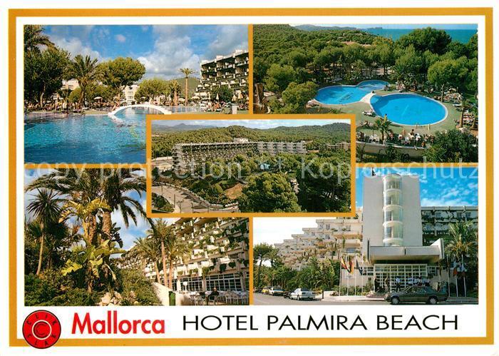 AK / Ansichtskarte Paguera_Mallorca_Islas_Baleares Hotel Palmira Beach Paguera_Mallorca