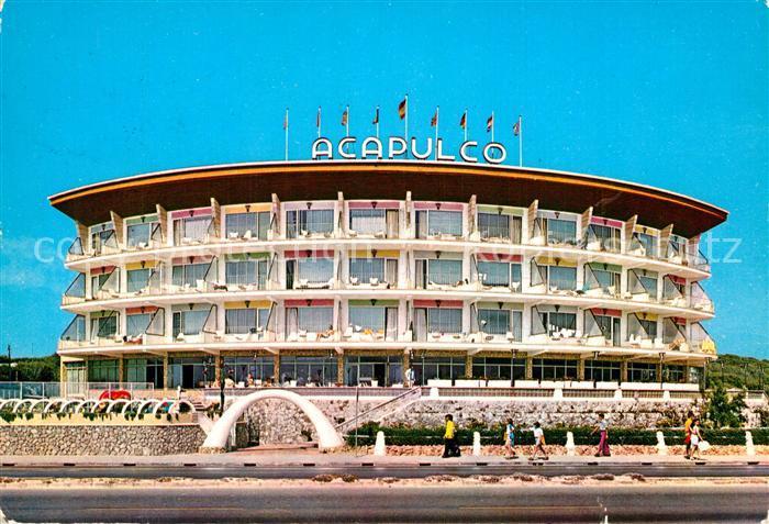 AK / Ansichtskarte Playa_de_Palma Hotel Acapulco Playa_de_Palma