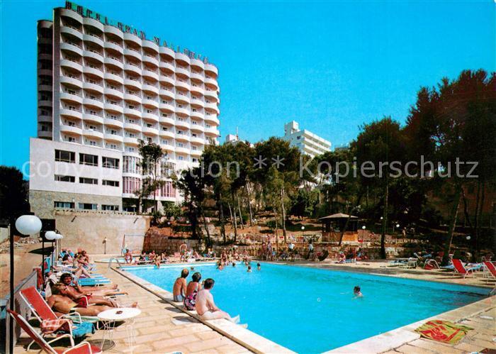 AK / Ansichtskarte San_Agustin_Gran_Canaria Hotel Gran Mallorca Pool San_Agustin_Gran_Canaria