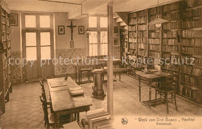 AK / Ansichtskarte Hechtel Werk van Don Bosco Bibliotheek Hechtel
