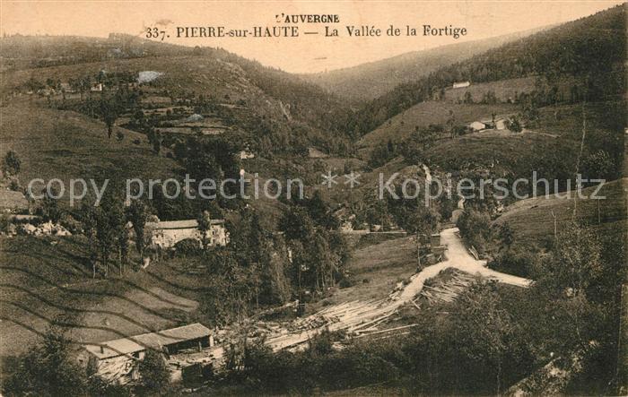 AK / Ansichtskarte Chalmazel Panorama Mont Pierre sur Haute Vallee de la Fortige Chalmazel