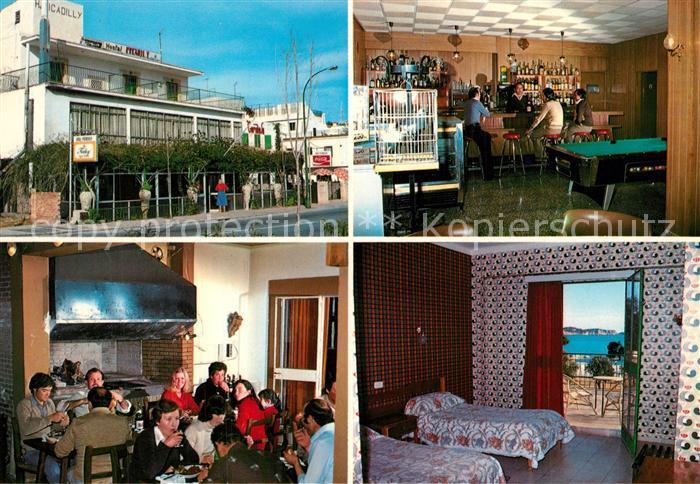 AK / Ansichtskarte Paguera_Mallorca_Islas_Baleares Hostal Picadilly Paguera_Mallorca