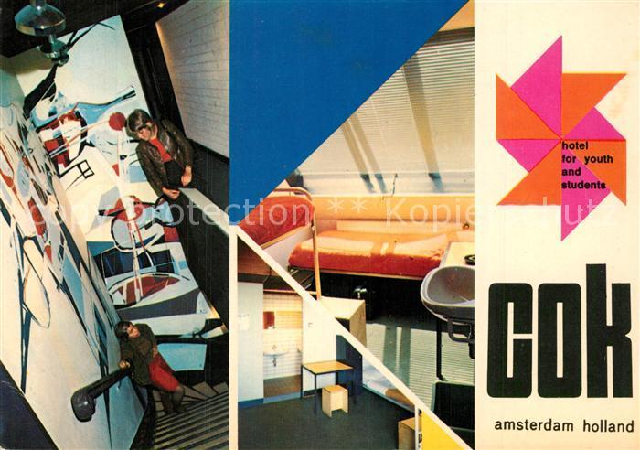 Amsterdam_Niederlande COK Hotel f?r Jugendliche und Studenten Amsterdam_Niederlande