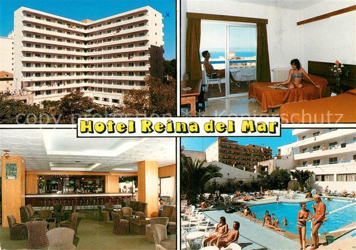 AK / Ansichtskarte El_Arenal_Mallorca Hotel Reina del Mar Pool El_Arenal_Mallorca