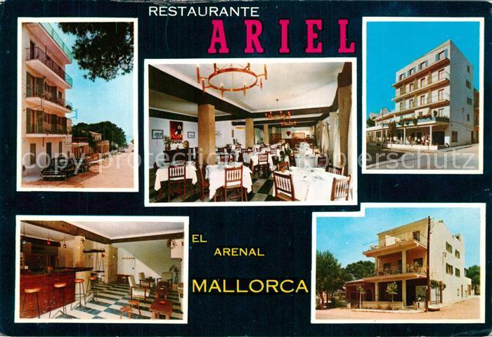 AK / Ansichtskarte El_Arenal_Mallorca Restaurant Ariel El_Arenal_Mallorca