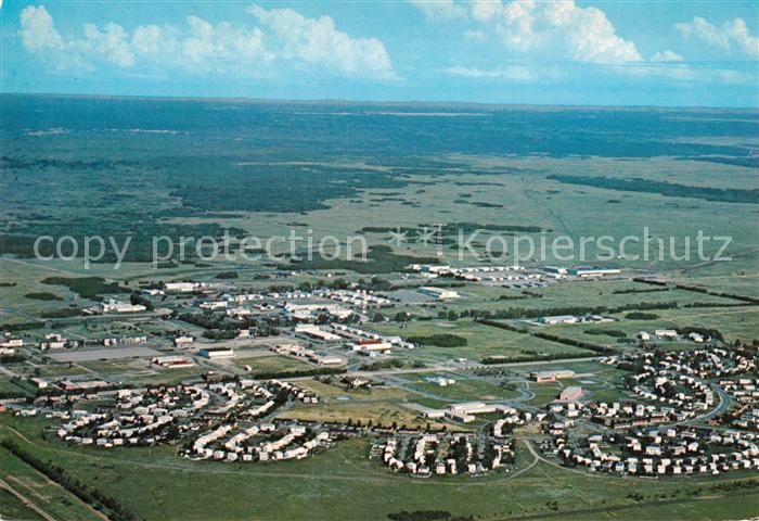 Manitoba Fliegeraufnahme Canadian Forces Base Shilo Manitoba