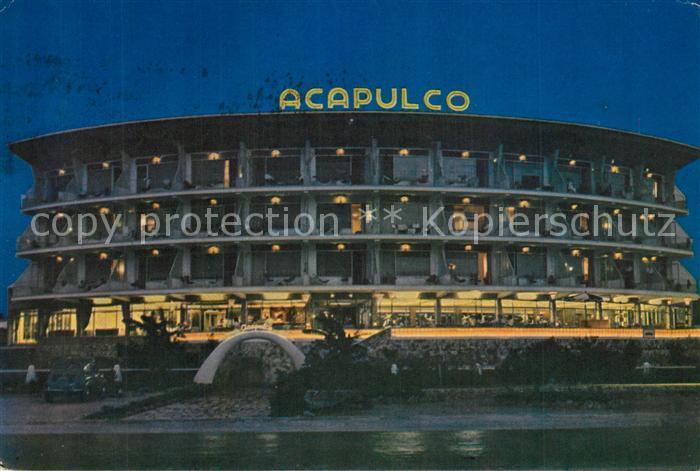 AK / Ansichtskarte Playas_del_Arenal Hotel Acapulco Playas_del_Arenal