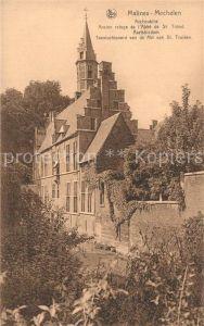 AK / Ansichtskarte Malines_Mechelen_Flandre Archeve Ancien refuge de l'Abbe de St Trond Malines_Mechelen_Flandre