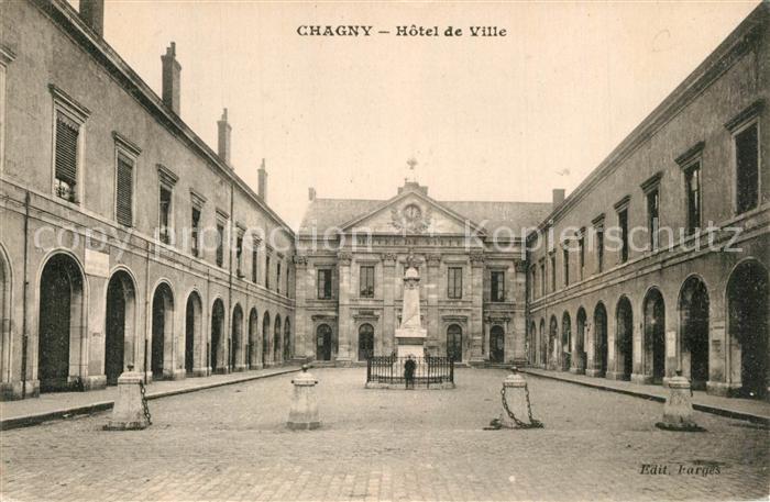 AK / Ansichtskarte Chagny_Ardennes Hotel de Ville Chagny Ardennes