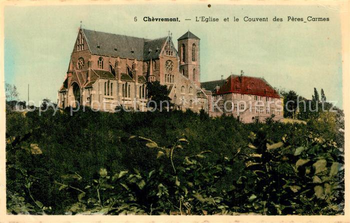 Chevremont_Kerkrade Eglise et le Couvent des Peres Carmes Chevremont Kerkrade