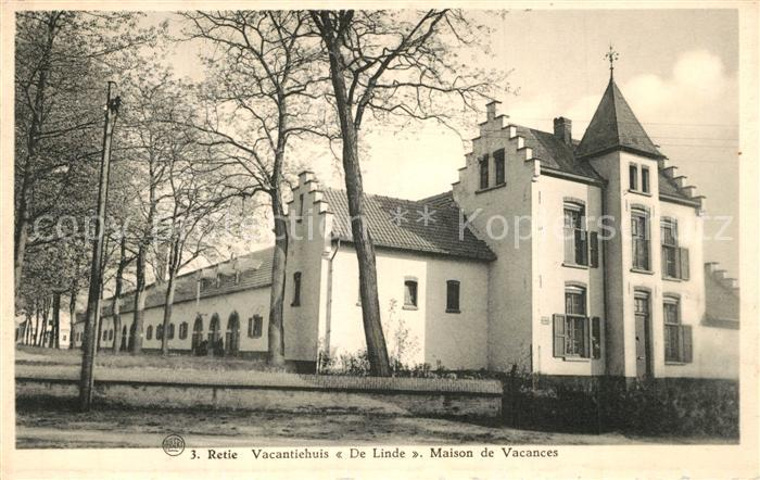 AK / Ansichtskarte Retie Vacantiehuis De Linde Retie