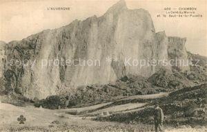 AK / Ansichtskarte Chambon sur Lac Panorama Dent du Marais et le Saut de la Pucelle Chambon sur Lac