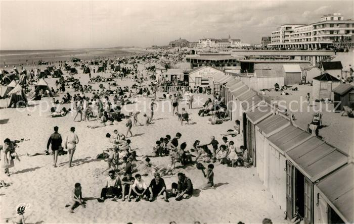 AK / Ansichtskarte Berck Plage La plage Berck Plage