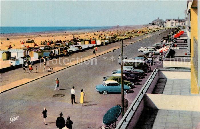 AK / Ansichtskarte Berck Plage Esplanade et la plage Berck Plage