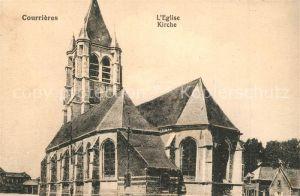 AK / Ansichtskarte Courrieres Eglise Kirche Courrieres