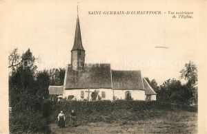 AK / Ansichtskarte Saint_Germain_d_Echauffour Eglise Kirche