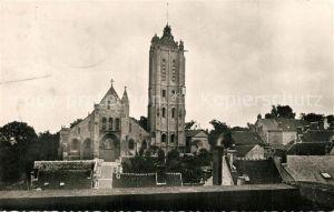 AK / Ansichtskarte Beaumont sur Oise Eglise vue du Prieure Beaumont sur Oise