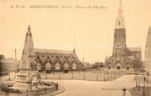 Armentieres Place de l Eglise Armentieres