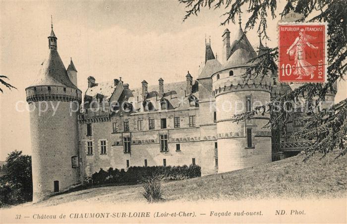 Chaumont sur Loire Chateau Chaumont sur Loire