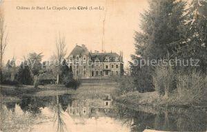 Cere la Ronde Chateau de Biard la Chapelle Cere la Ronde