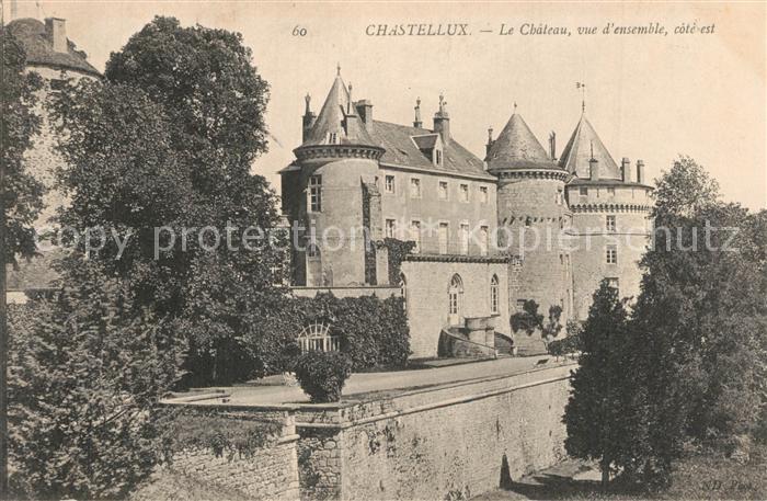 Chastellux sur Cure Chateau  Chastellux sur Cure