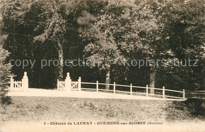 Launay Villiers Chateau Guemene sur Scorff Launay Villiers