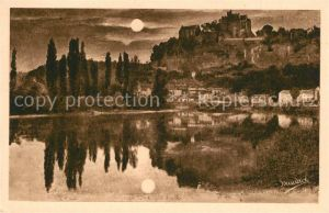 Dordogne Chateau Feodal de Beynac et Village Dordogne