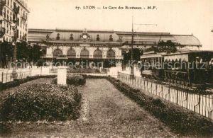 Lyon_France La Gare des Brotteaux Bahnhof Lyon France