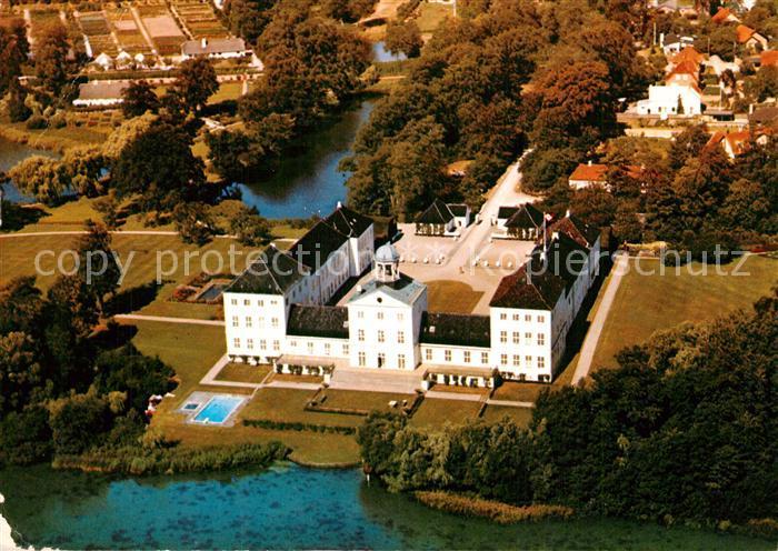 Graasten Schloss Fliegeraufnahme Graasten