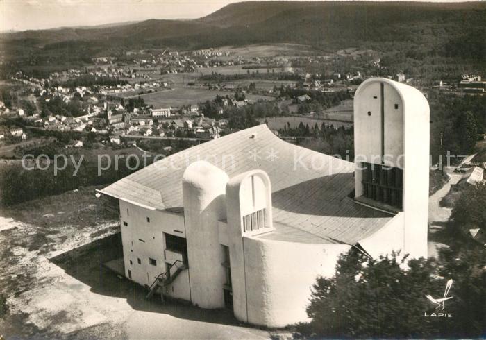 Ronchamp_Haute_Saone Chapelle Notre Dame du Haut Architecte Le Corbusier Ronchamp_Haute_Saone