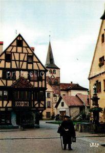 Turckheim_Haut_Rhin Le Veilleur de nuit Tradition du Moyen Age Turckheim_Haut_Rhin