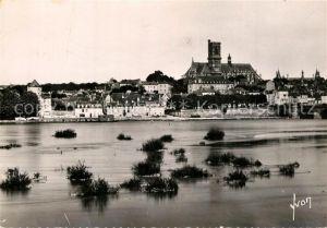 Nevers_Nievre La Ville vue de la rive gauche de la Loire Nevers Nievre