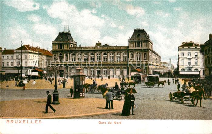 Bruxelles_Bruessel Gare du Nord Bruxelles_Bruessel