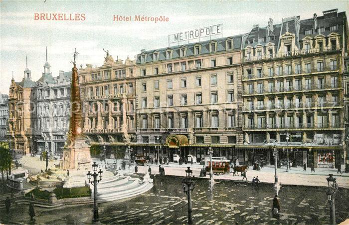 Bruxelles_Bruessel Hotel Metropole Bruxelles_Bruessel