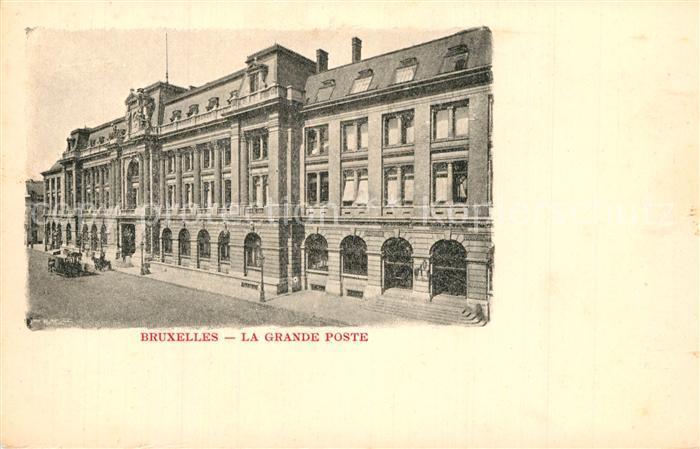 Bruxelles_Bruessel La Grande Poste Bruxelles_Bruessel