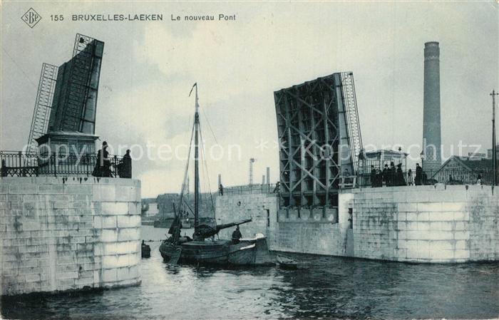 Laeken Le nouveau Pont Laeken
