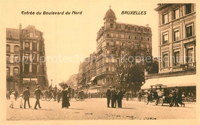 Bruxelles_Bruessel Entree du Boulevard du Nord Bruxelles_Bruessel